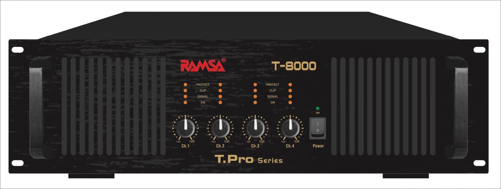 Cục đẩy công suất Ramsa T-8000